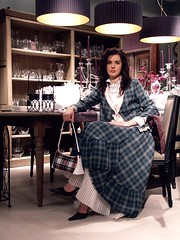 plaid jacket and skirt (dunikowski) Tags: dress plaid decor handbag traje vestido tartan kleid suknia sukienka almi dagnez