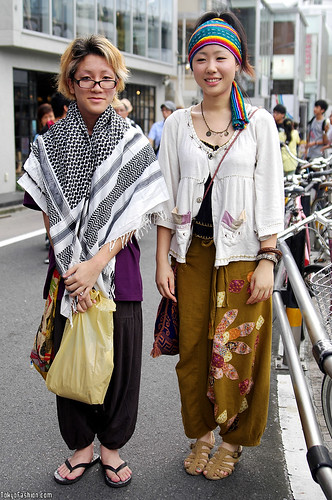 Harajuku Hippie Fashion