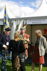 Clan Livingstone & Clan MacLea tent at The Gathering 09