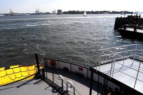 Ferry to Governors Island