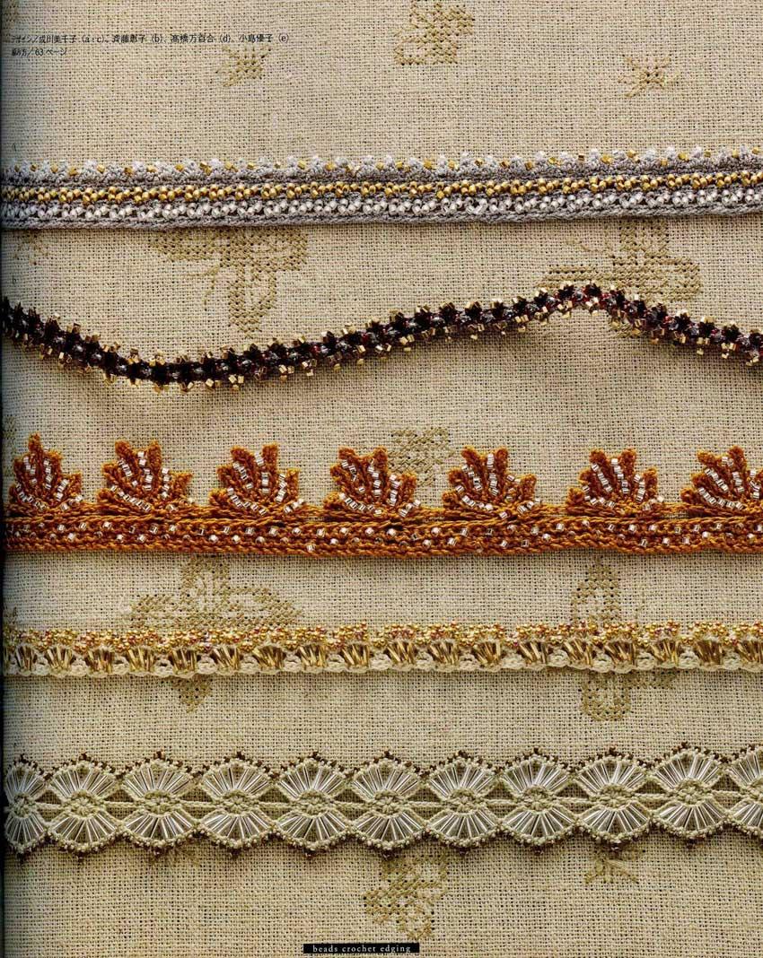 Beads Crochet Edging | Porronchos