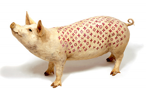 louis vuitton pig