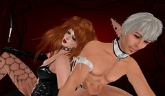 Extreme Makeover (antimony_battery) Tags: bdsm elf secondlife mistress femdom antimonybattery shjakmonde