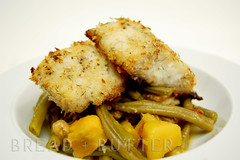 Baked Panko-Dill Crusted Cod by Misadventures of Little J