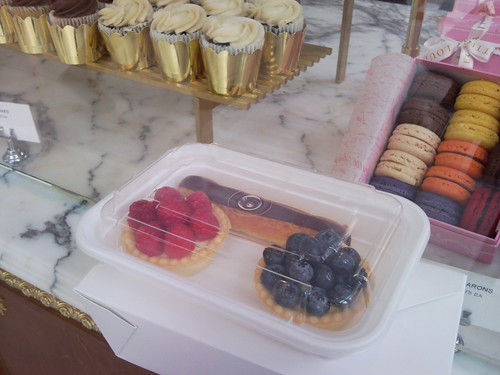 Our desserts...and the ones we didnt get. Bye bottega louie!