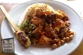Nasi Ayam Kedewatan Ubud