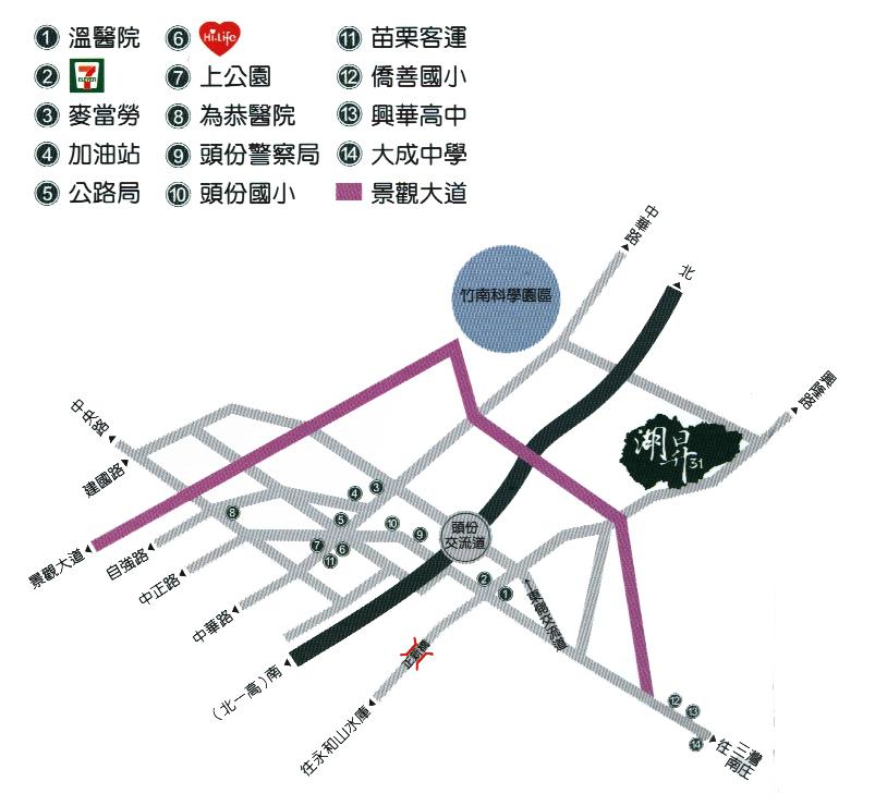 湖昇31(興隆大鎮)位置圖