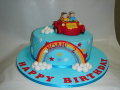 Caillou Birthday Cake on Wiggles Cake  Cakecreationsbyhuma  Tags  Birthday Boy Cake Clouds
