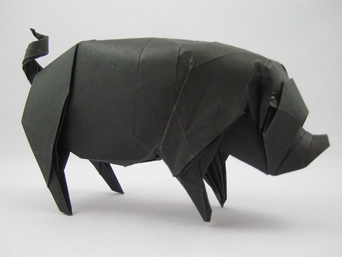 Joseph Wu's Origami - Ground Pork (take 5)