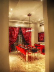 Ramzi's dining room - Modern Interior Design (heshaaam) Tags: lighting house modern table design bahrain interior manama durand ramzi qtpfsgui mantiuk featuredonadidapcom