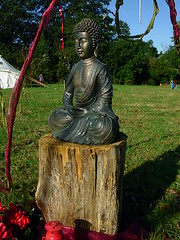 Buddhafield East field shrine