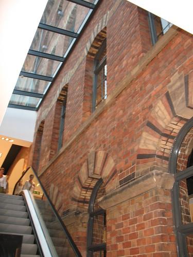 Brickwork inside Debenhams 2