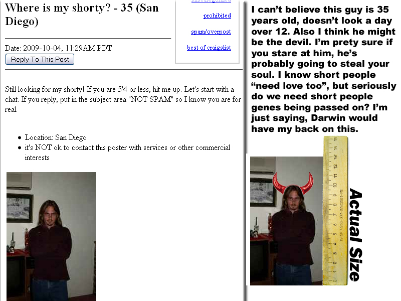 Craigs List Shorty