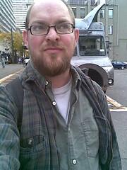 Green Shirt Rerun (evil robot 6) Tags: green me shirt thursday gst phonepost pigtruck