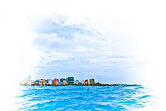 Will the Maldives Vanish to the sea ?? (dhunfini) Tags: sink nation 350 maldives rainbowcity sealevelrising uniquemaldives