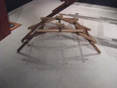 Da VInci Arched Bridge - success!