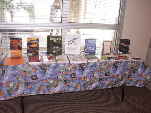 Halloween Horrorfest Library Display