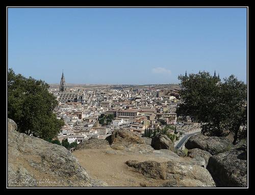 Toledo desde cerca de la Peña del Rey Moro