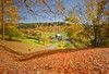 Autumn at Sleepy Hollow Farm (Photography by Steven Frudak) Tags: morning fall leaves farmhouse nikon vermont farm foliage woodstock supershot anawesomeshot ultimateshot theunforgettablepictures stevenfrudak