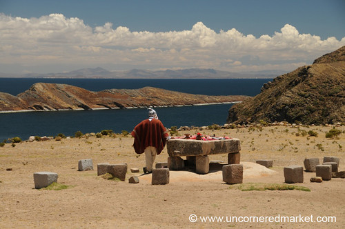 Sacrifice Table on Isla del Sol