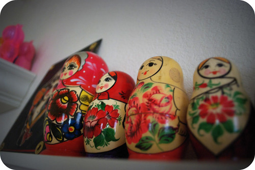 some of my Russian nesting dolls