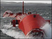 pelamis at sea