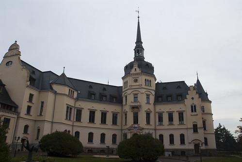 Renaissanceschloss Ralswiek - Rückseite