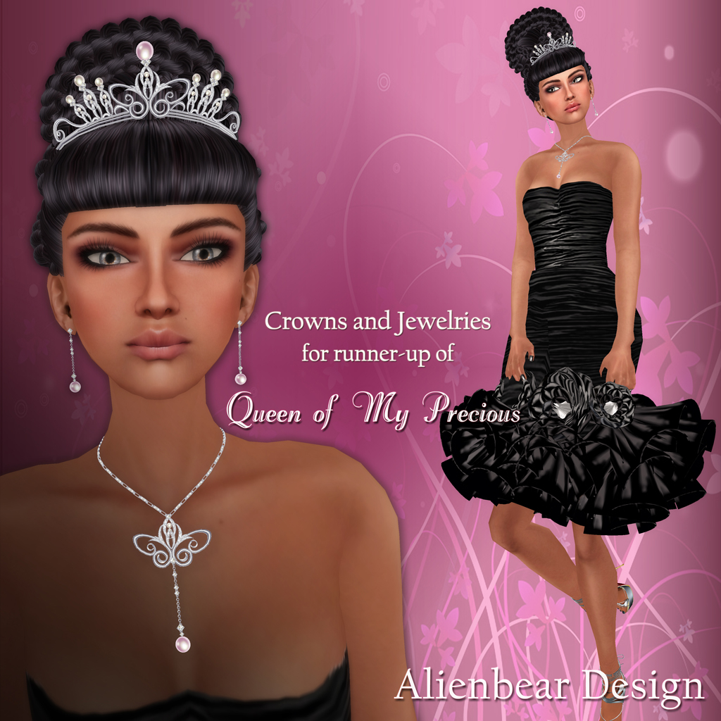 Crown & Jewelry for Runner-up winner