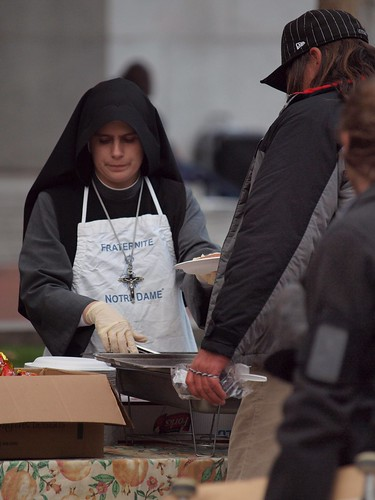 Feeding the hungry in San Francisco