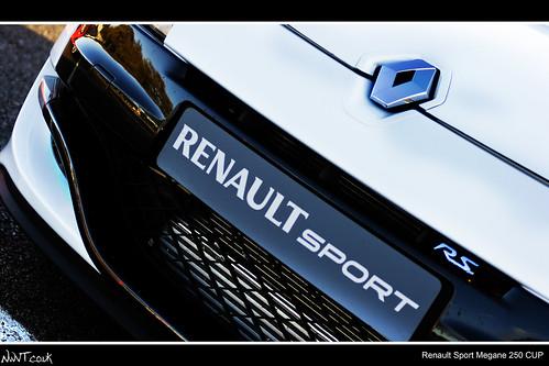 renault megane sport 250 cup trophee. White RenaultSport Megane 250