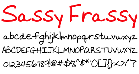 click to download Sassy Frassy