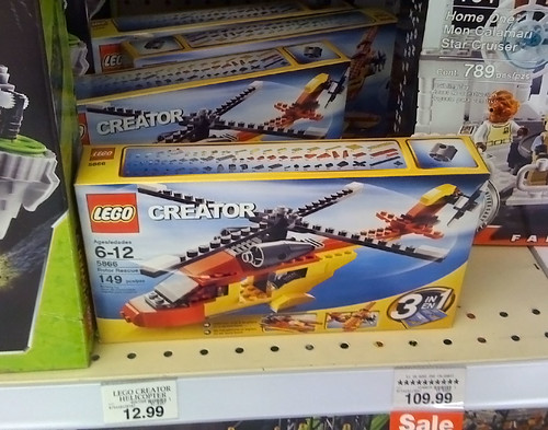 LEGO 2010 Sets Spotted at Toys R Us - Creator 5866 Rotor Rescue