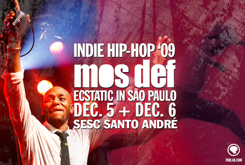 Mos Def at Indie Hip Hop 2009