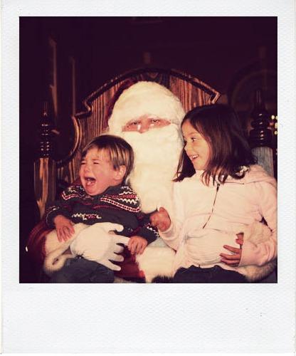 Santa Polaroid