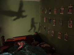 (smwright) Tags: sleeping shadow bed eagle running dreams attacking