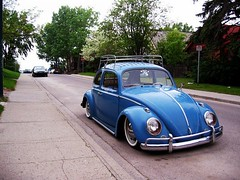 beetle (dez&john3313) Tags: blue classic vw vintage bug volkswagen low beetle drop retro lowered dropped stance vdub