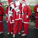 3 Madgexian Santas: Alex, Martin, Jane