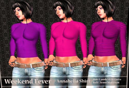 weekend fever Ilaya annabella shirt