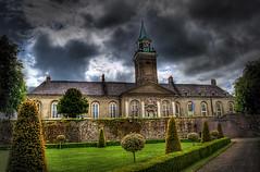 IMMA - Irish Museum Of Modern Art (sbox) Tags: old ireland sky dublin irish colour museum architecture buildings garden colorful dramatic spire hdr kilmainham imma irishmuseumofmodernart