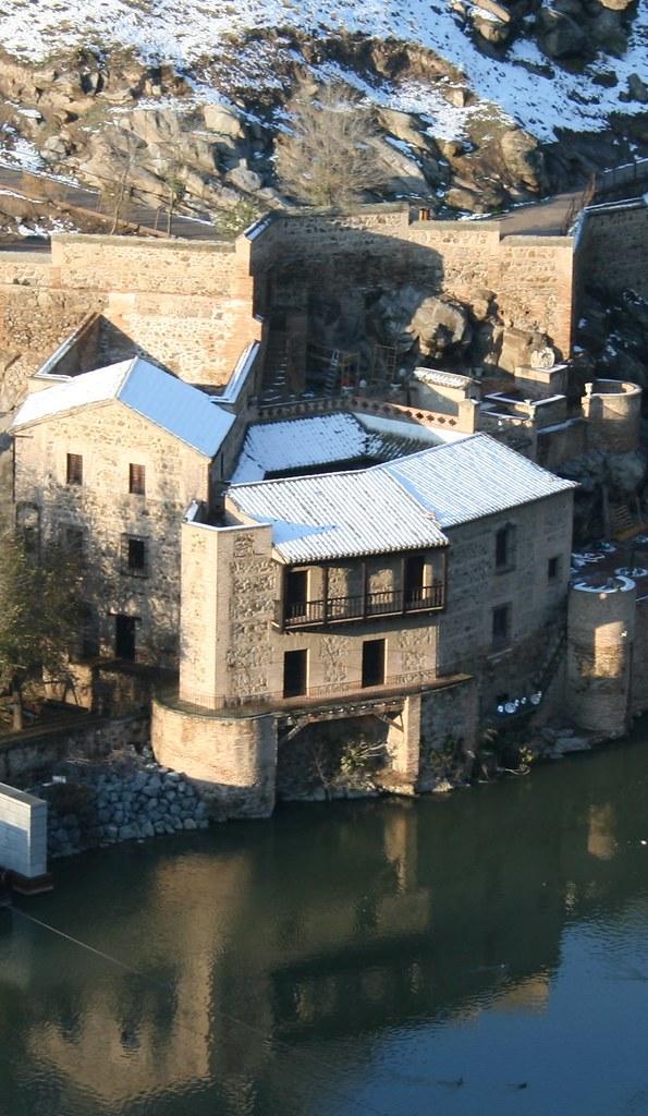 Casa del Diamantista de Toledo nevada el día 14 de diciembre de 2009