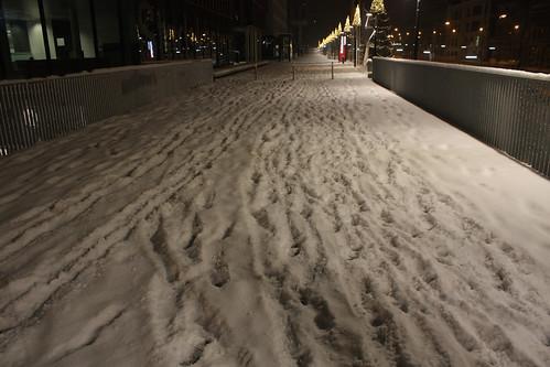 Sneeuw in Leuven 2009