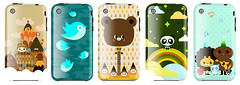 TADO x Uncommon (TADO DEATH BRIGADE) Tags: mountains cute artwork panda pretty blackberry covers iphone uncommon tado