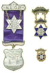New England Order of Protection medals