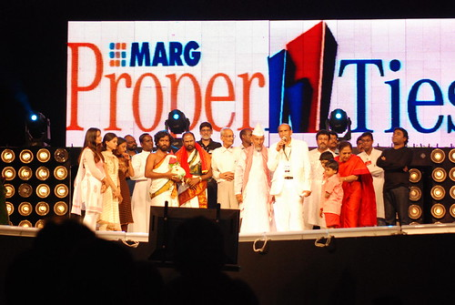 Music Legend A R Rahman and other celebrities look At Mr. GRK Reddy Addressing The Music Audience