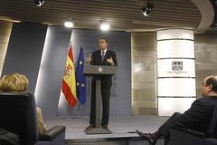 30-12-09 Rueda de prensa del presidente Zapatero, tras el último Consejo de Ministros de 2009 por Partido Socialista