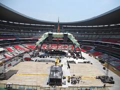 Septimo día de montaje - Estadio Azteca 46