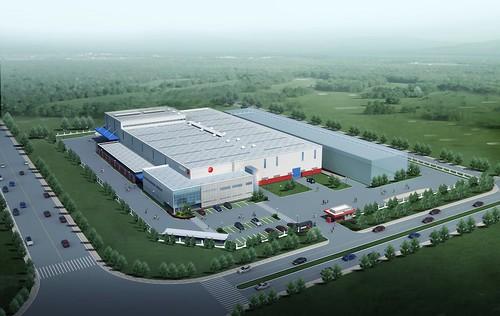 Proyecto de la nueva fábrica de Fagor Ederlan en China