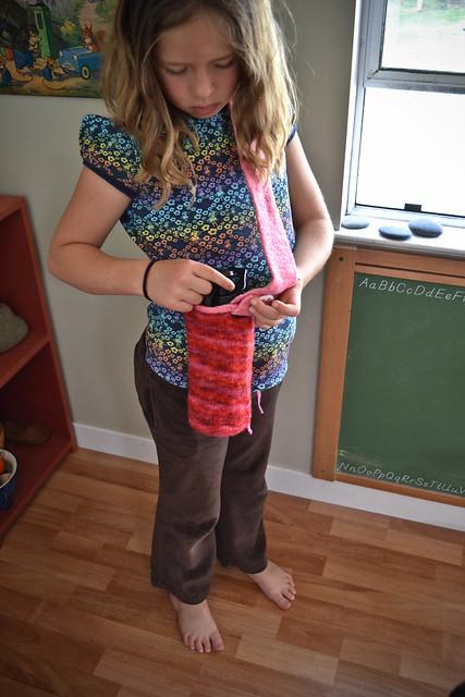 felted water bottle holders!