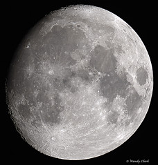 Waxing Gibbous Moon 13 03 14 (twinklespinalot) Tags: moon luna astrophotography astronomy lunar waxinggibbous moonwatch