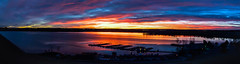 Cherry Creek State Park - Sunrise[Explored] (BernieErnieJr) Tags: cherrycreekstatepark aurora colorado sunrise sun reflection reservoir lake water marina frontrange greatphotographers teamsony rockymountains sonya6300 sony18105mmg morning winter clouds